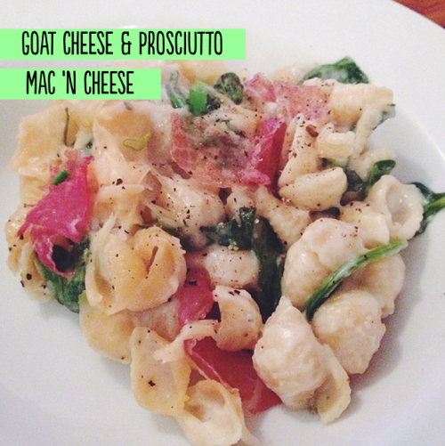 goat cheese mac | Cody Uncorked.